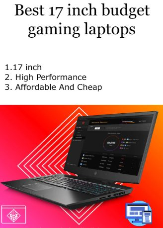 Best 17 inch budget gaming laptop